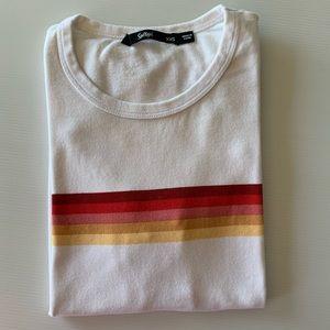 Sportsgirl Striped Tshirt Size XXS